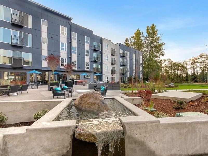 Exterior at Trillium Apartments in Edmonds, Washington