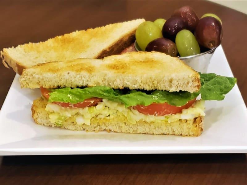 Egg Salad Sandwich at Meadowlark Senior Living Dining