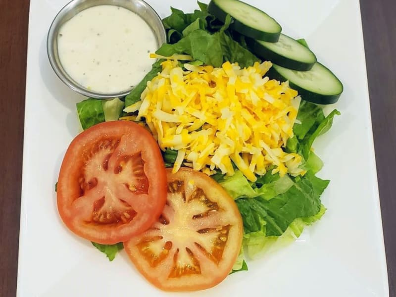Side Salad at Meadowlark Senior Living Dining