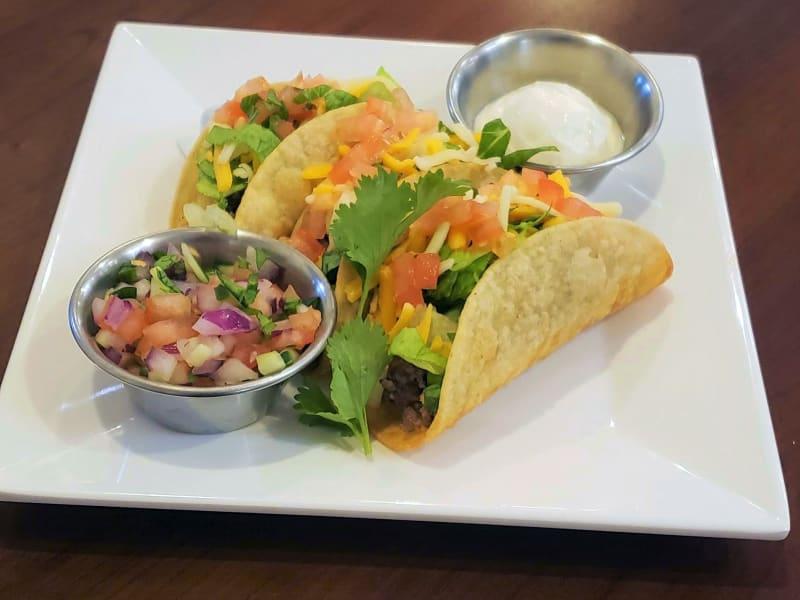 Beef Tacos at Meadowlark Senior Living Dining