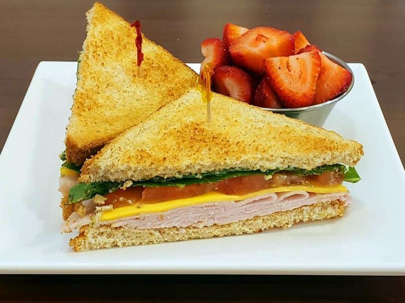 Turkey Sandwich at Meadowlark Senior Living Dining