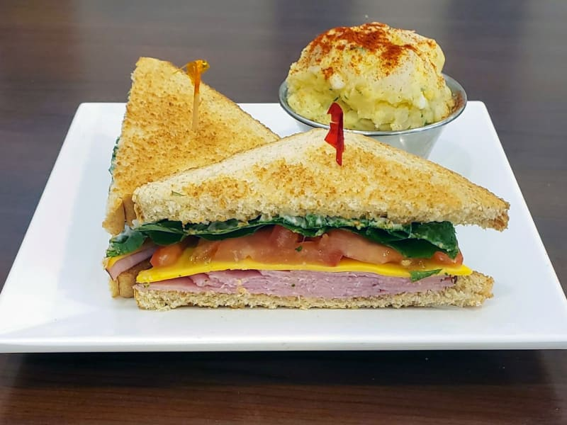 Ham Sandwich at Meadowlark Senior Living Dining