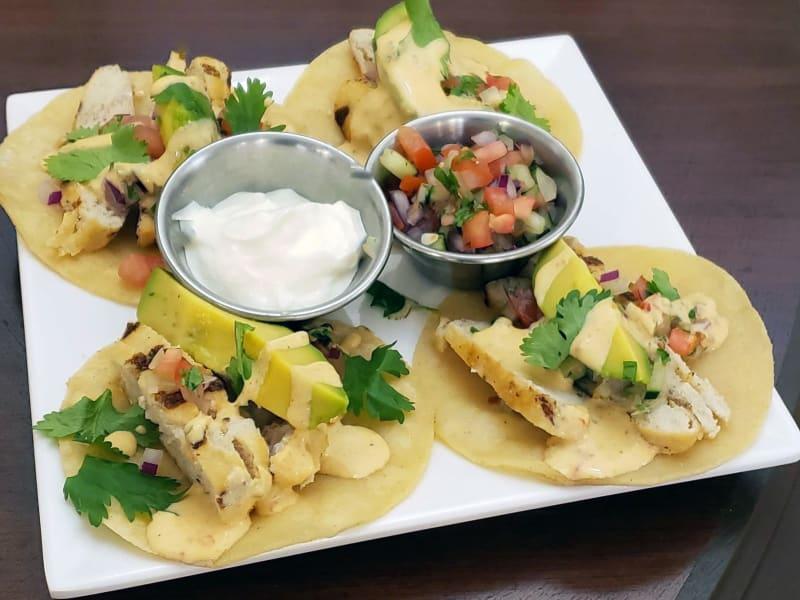 Chicken Street Tacos at Heron Pointe Senior Living Dining