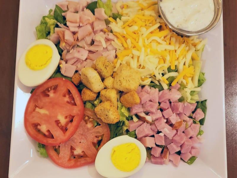 Chef Salad at Heron Pointe Senior Living Dining