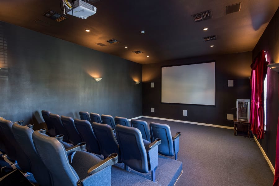 movie theater at Veranda in Texas City, Texas