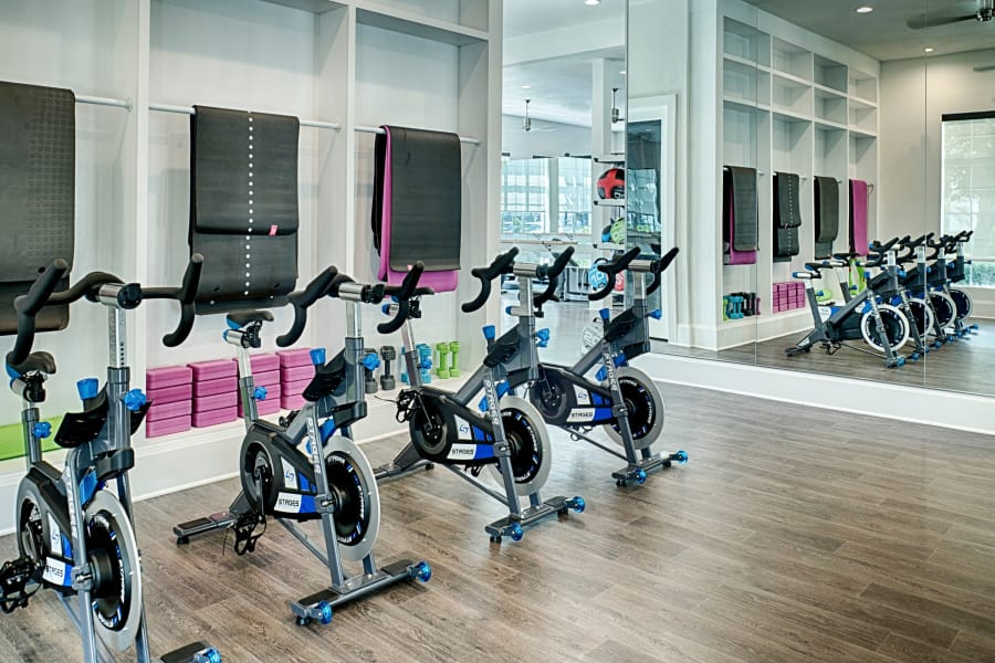 Fitness Center at The Sophia at Abacoa in Jupiter, Florida