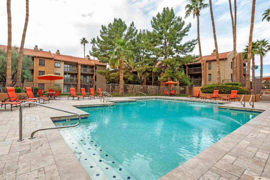 Refreshing swimming pool at Renaissance Apartment Homes