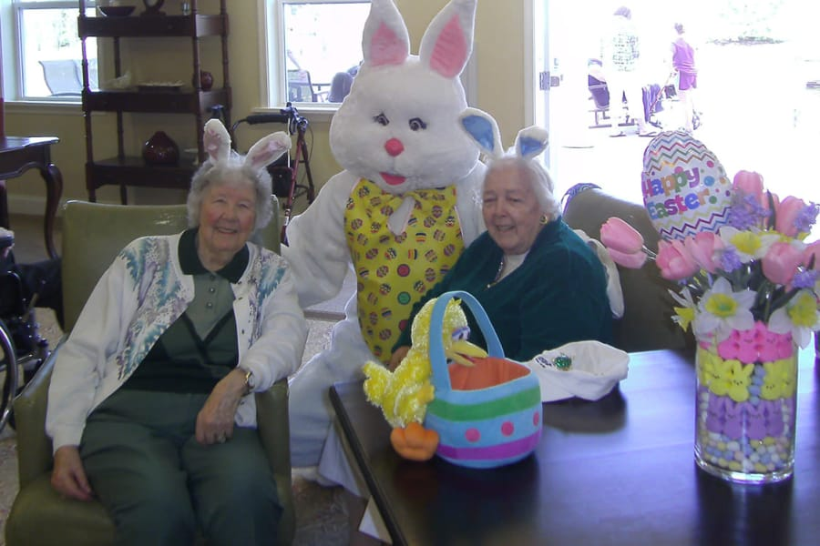 Easter Celebration at Traditions of Hershey in Palmyra, Pennsylvania