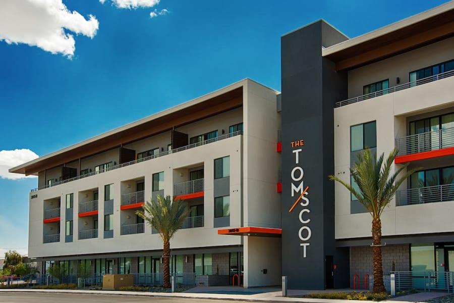 Exterior of The TOMSCOT in Scottsdale, Arizona