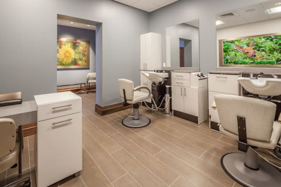Onsite salon at All Seasons Oro Valley in Oro Valley, Arizona