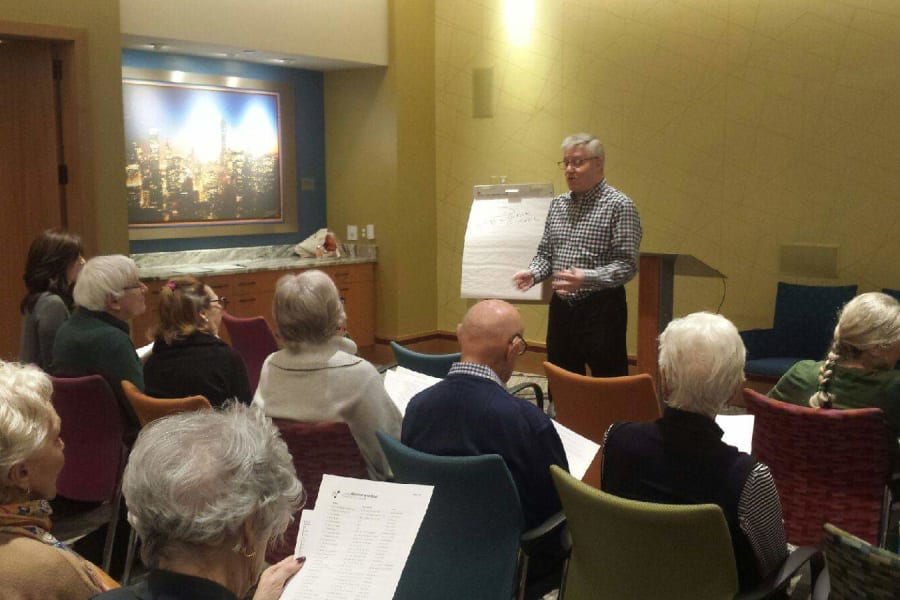 Lecture series at All Seasons Oro Valley in Oro Valley, Arizona