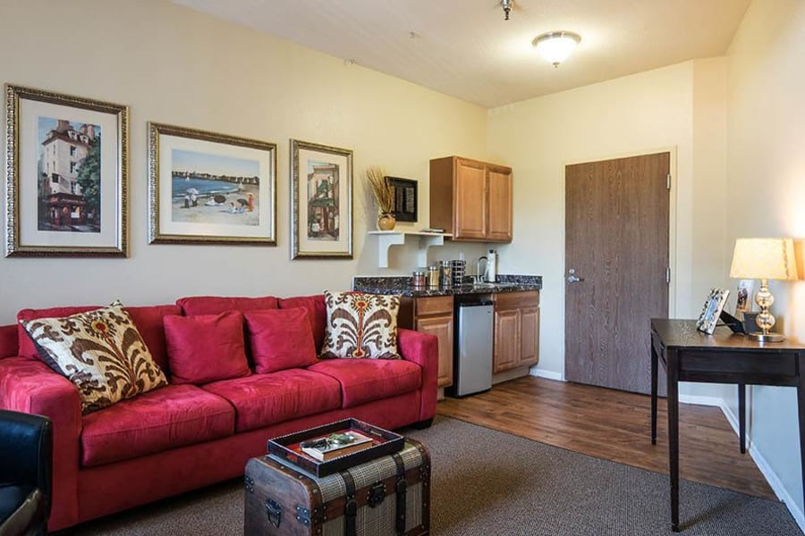 Spacious and well-furnished suite at Carmel Village in Fountain Valley, California