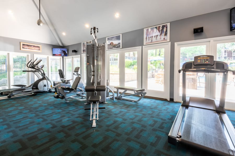 Fitness Center at Six Forks Station in Raleigh, NC