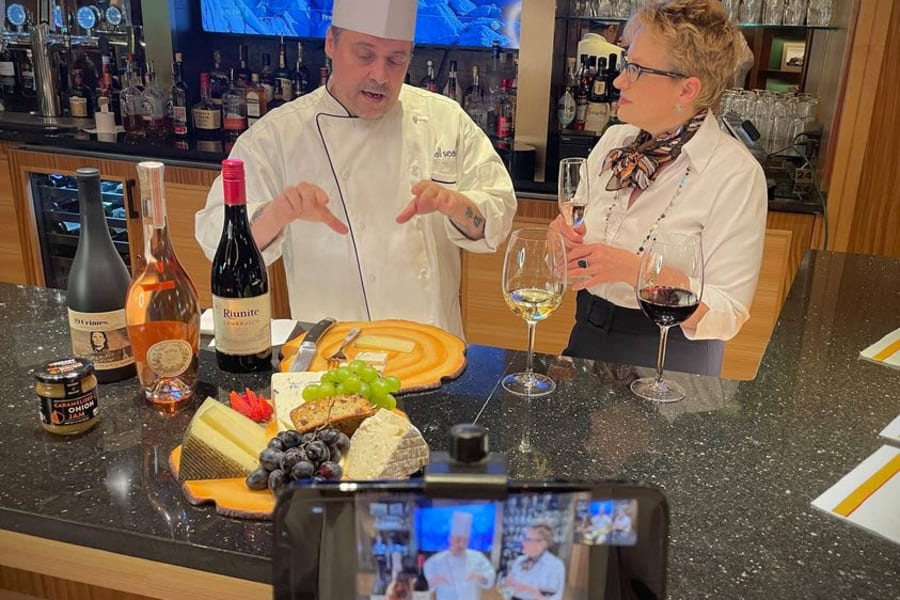 Virtual Wine and Cheese Pairing with Chef DuBourg
