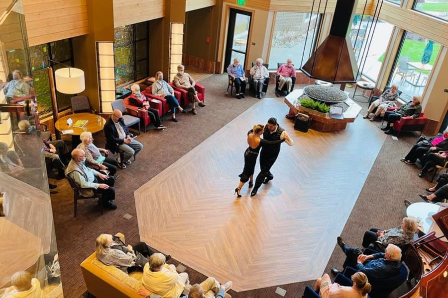 Signature Event in the Fireside Lounge; Argentine Tango