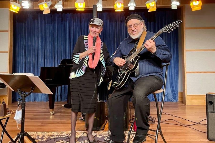 Jazzy Singer Sheila Landis and Guitarist Rick Matle