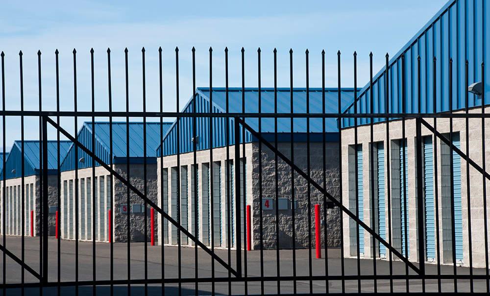 Security Fence at Prime Storage in Westville, NJ