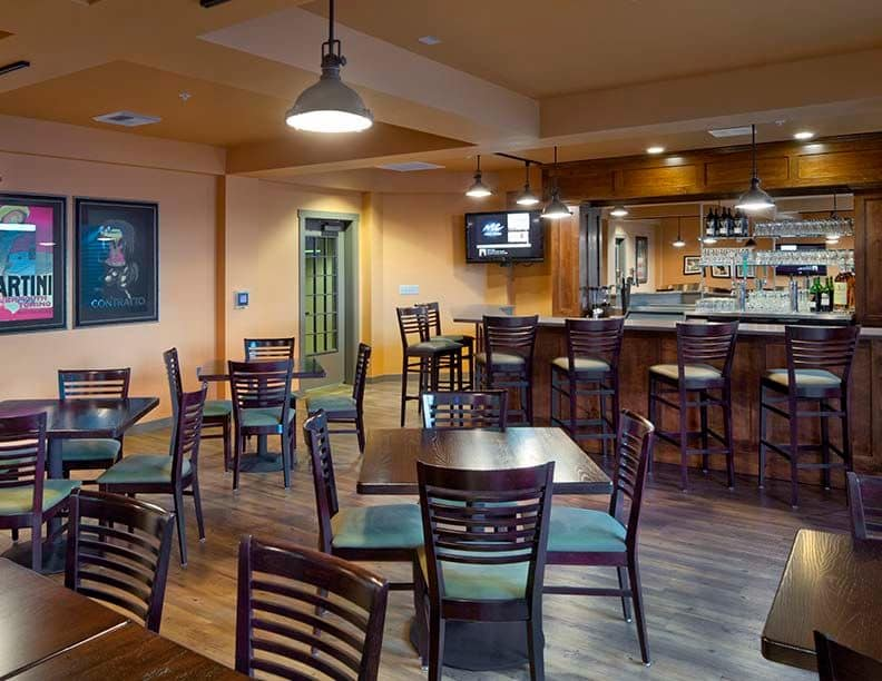 Enjoy a drink at Dilly Dally's when you live at Affinity at South Hill