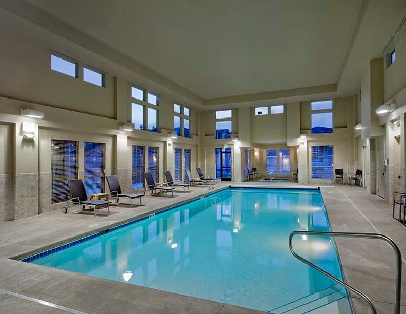 Affinity at South Hill has an indoor pool
