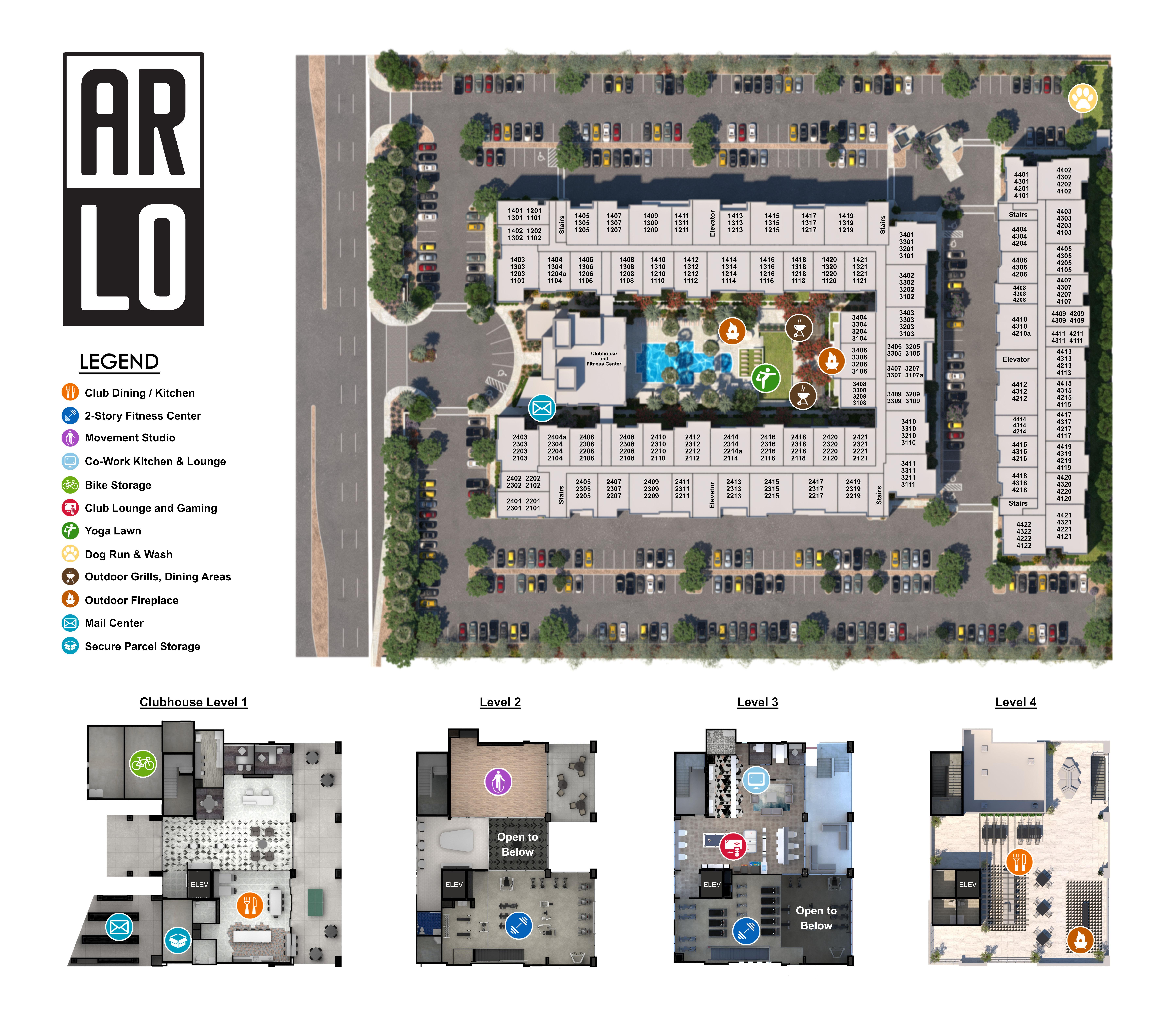 ArLo site plan