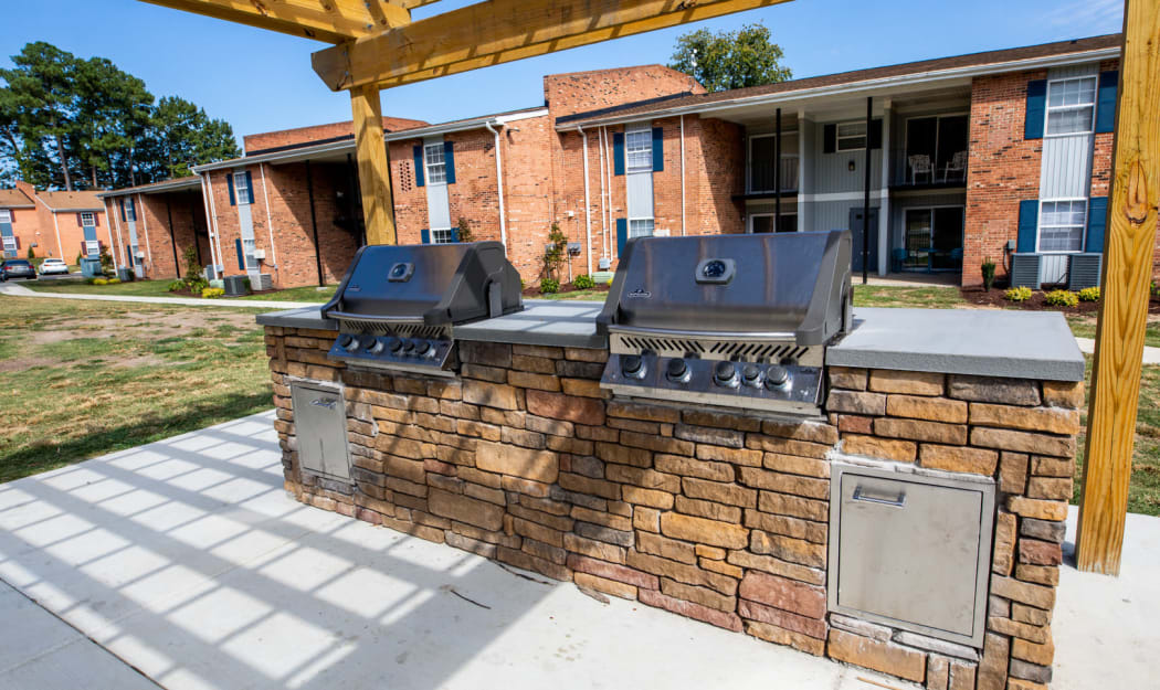 Our Apartments in Newport News, Virginia offer a BBQ Area