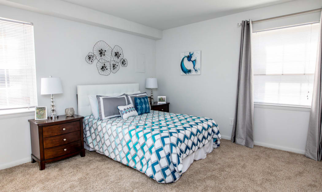 Bedroom at The Residences at Forest Grove in Newport News, Virginia