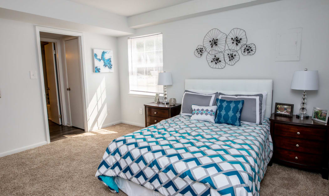Our Apartments in Newport News, Virginia offer a Bedroom
