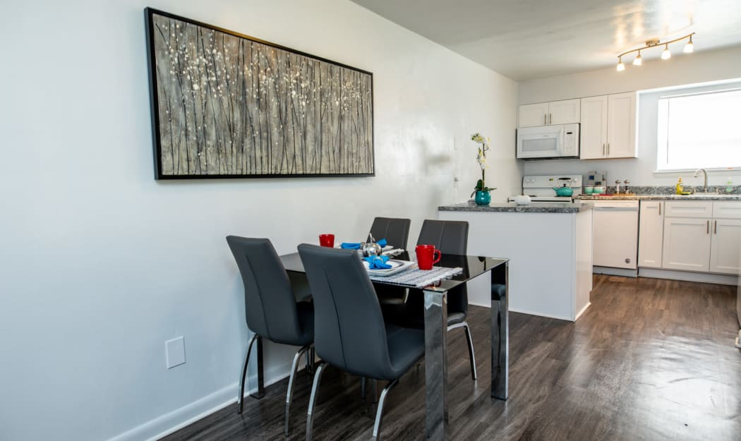 Dining Room at The Residences at Forest Grove in Newport News, Virginia
