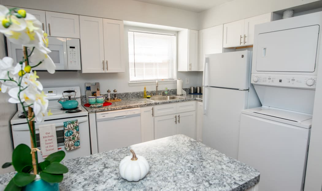 Kitchen at Apartments in Newport News, Virginia