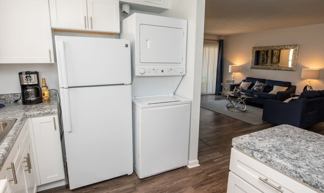 The Residences at Forest Grove offers a Kitchen in Newport News, Virginia