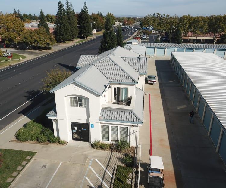 Office building at Sundance Self Storage in Roseville, California