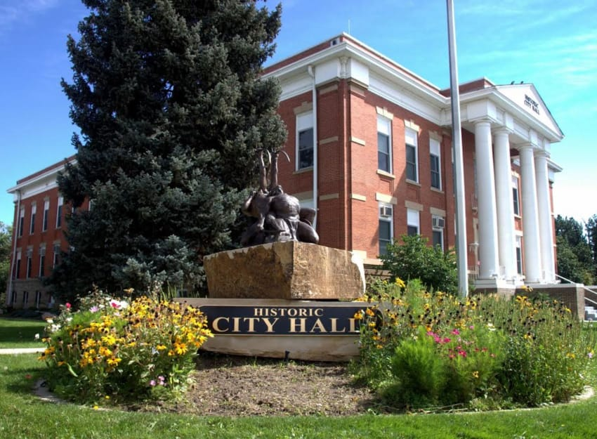 Brighton city hall in CO