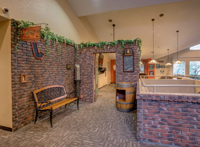 Unique clubhouse feel at Golden Pond Retirement Community in Sacramento, California