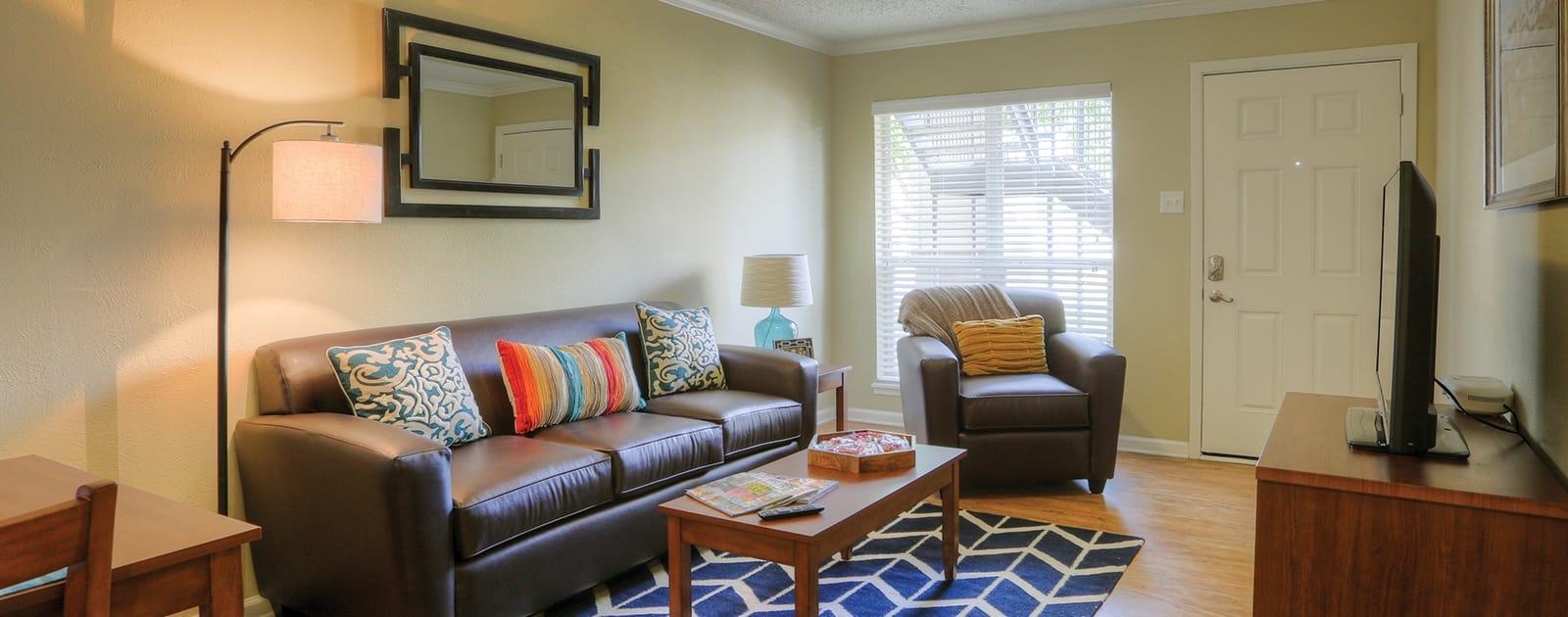 Floor plans at Raiders Walk Apartments