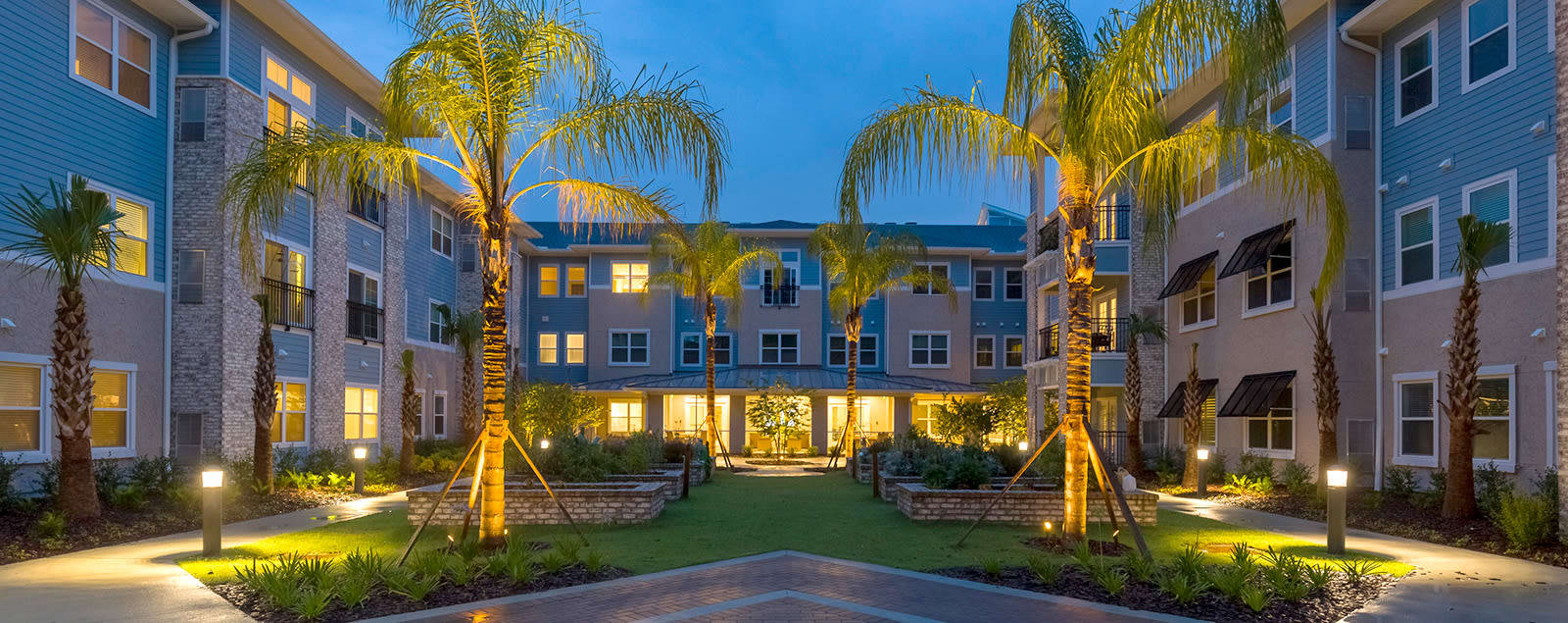 Map & directions to senior living in Jacksonville