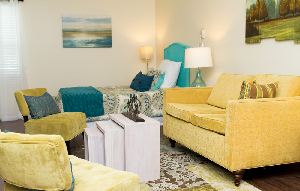 Heritage Green Assisted Living in Mechanicsville, Virginia living room