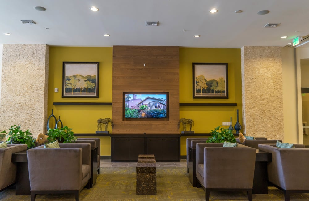 Modern Clubhouse at Solana Cherry Creek in Denver, Colorado