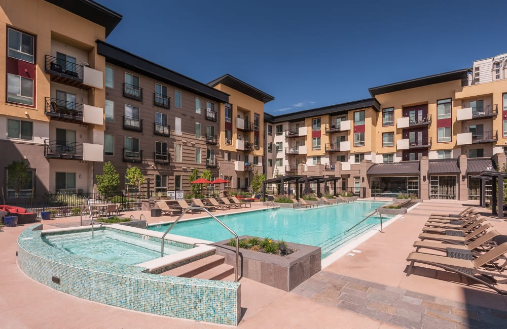 Our apartments in Denver, Colorado have a state-of-the-art swimming pool