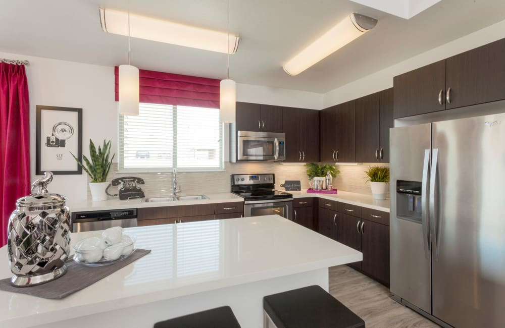 Spacious kitchen in our Denver, CO apartments