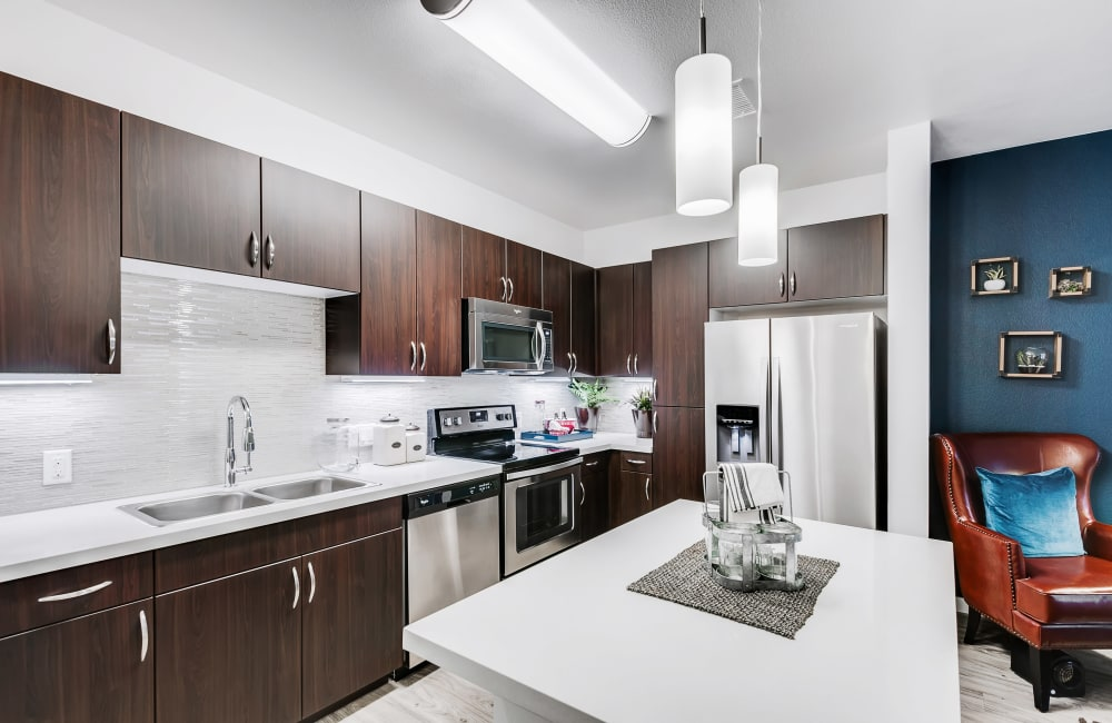 Example kitchen at Solana Cherry Creek