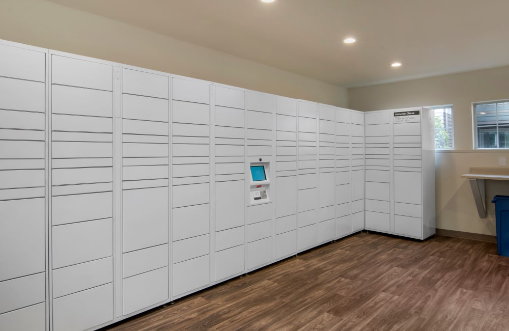 24-Hour Package Lockers with Amazon HUB
