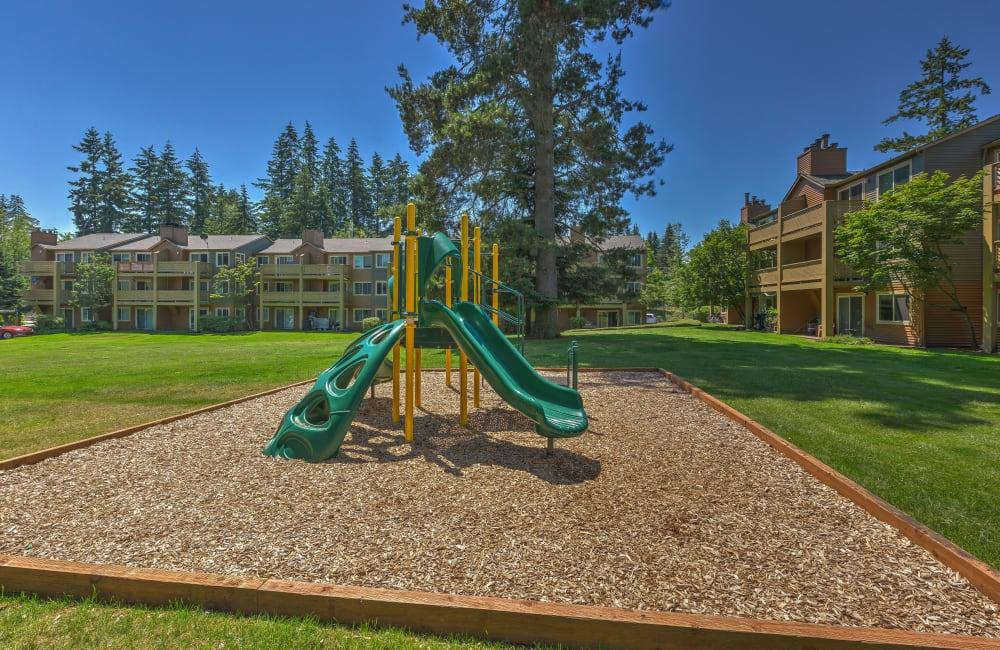 Onsite children's playground at Sofi Lakeside in Everett, Washington