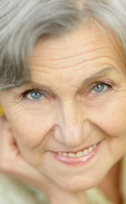 Woman enjoying her residence at MuirWoods Memory Care in Petaluma