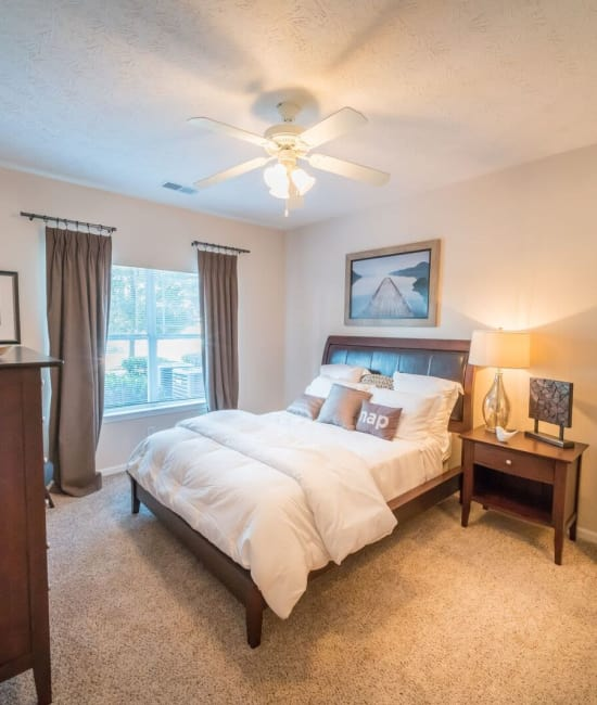 Bedroom at Haddon Place in McDonough, Georgia