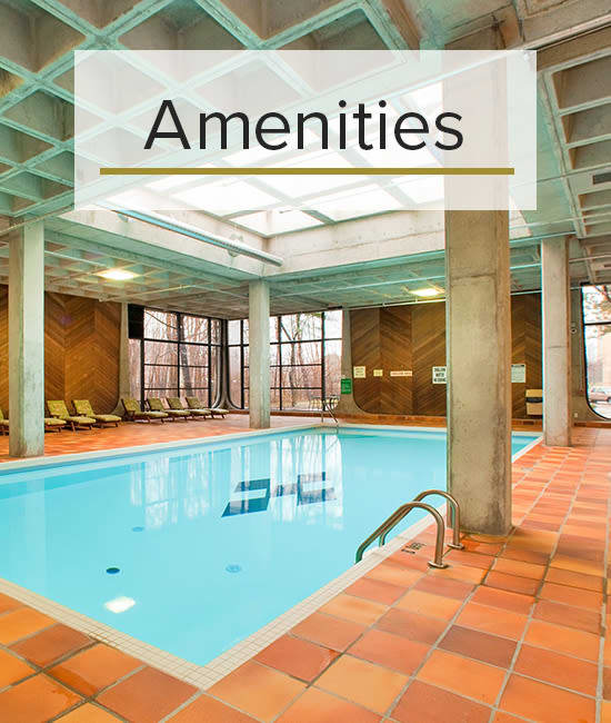 Our Amenities for Widdicombe Place in Etobicoke, Ontario.