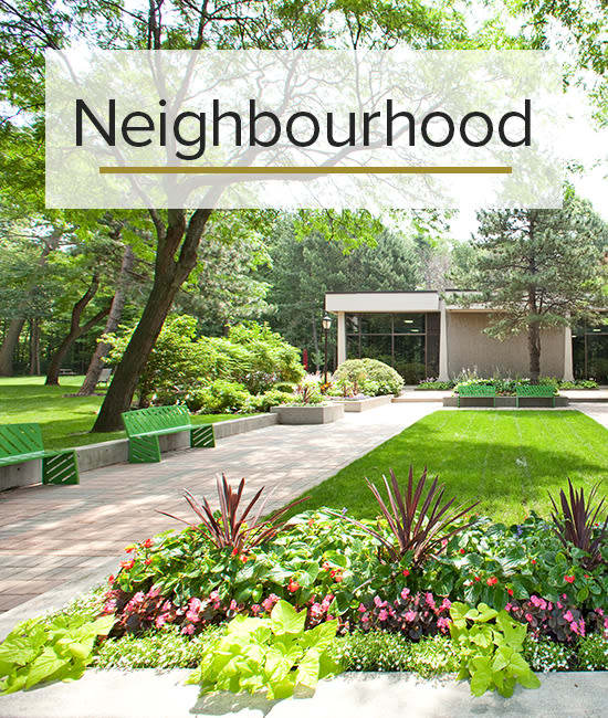 Our Neighbourhood for Widdicombe Place in Etobicoke, Ontario.