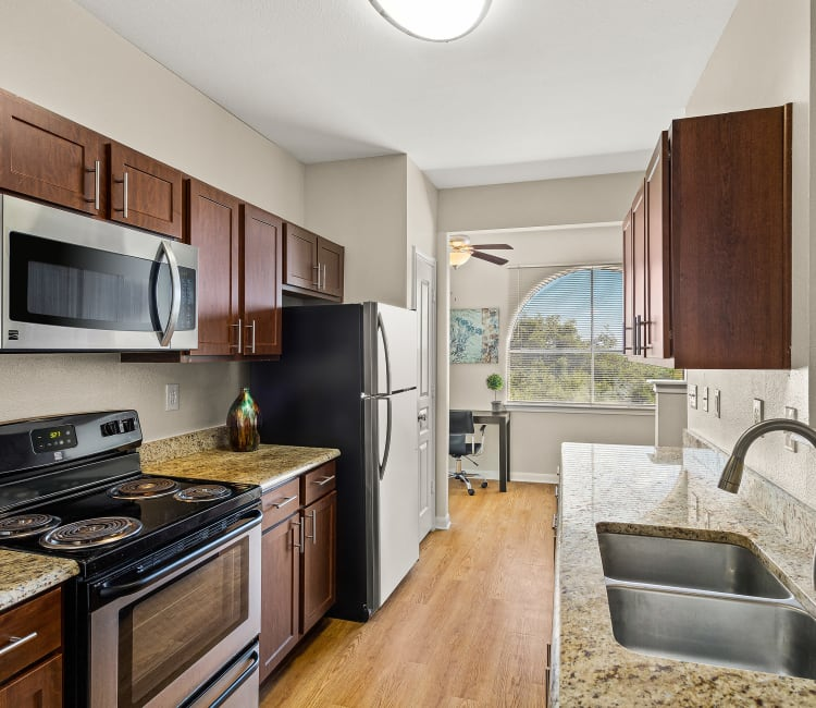Luxury Clubhouse at Sedona Ranch Apartments