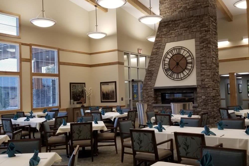 Dining Hall at Juniper Springs Senior Living