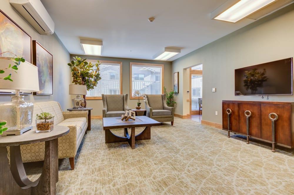 lobby at Juniper Springs Senior Living