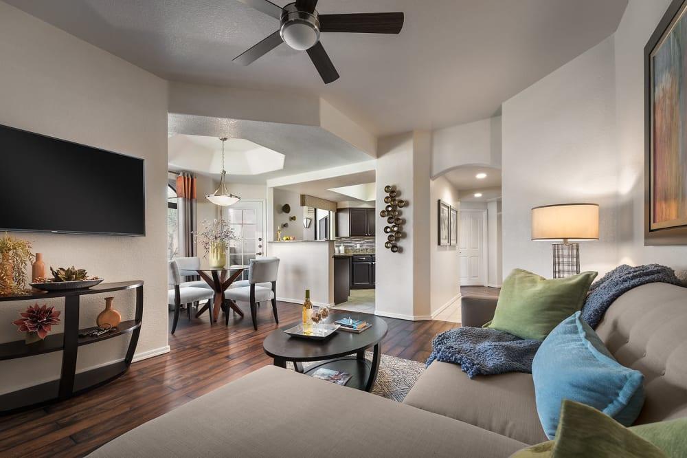 View floor plans at San Pedregal in Phoenix, Arizona